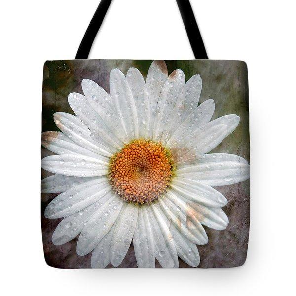 Misty Daisy Tote Bag