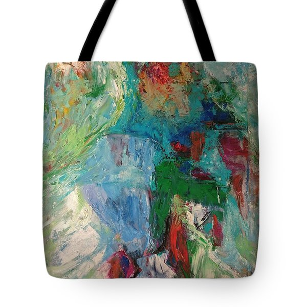 Misty Depths Tote Bag