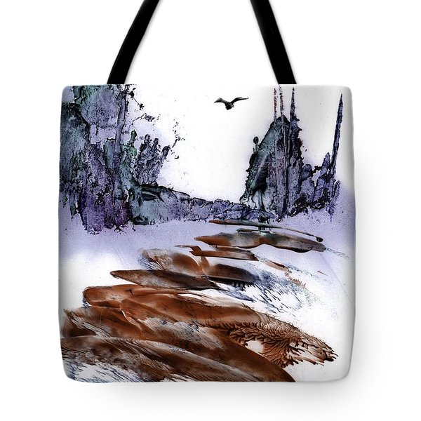 Misty Heights Tote Bag