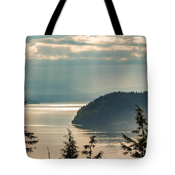 Misty Island Tote Bag