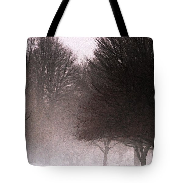 Misty Tote Bag by Linda Shafer