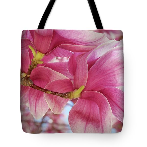 Misty Magnolia Tote Bag