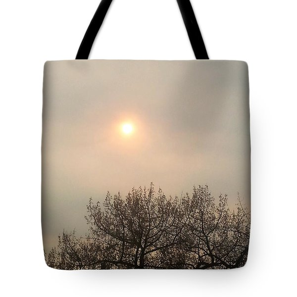Lazy Hazy Sunset Tote Bag