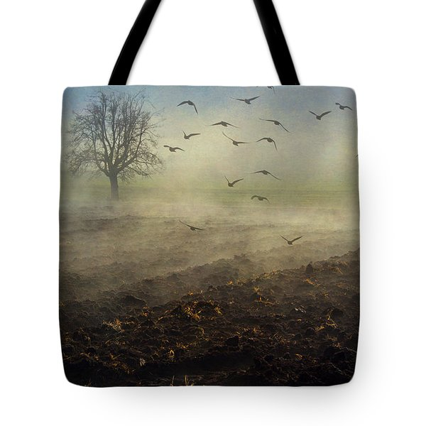 Misty Meadows Tote Bag