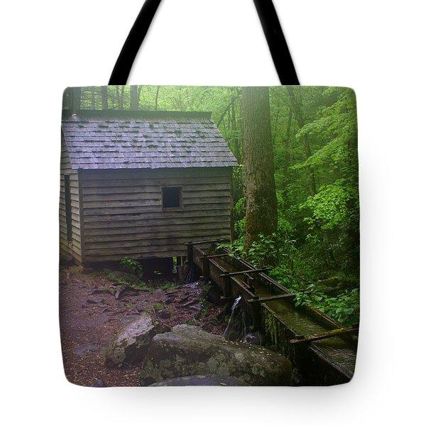 Misty Mill Tote Bag by Marty Koch
