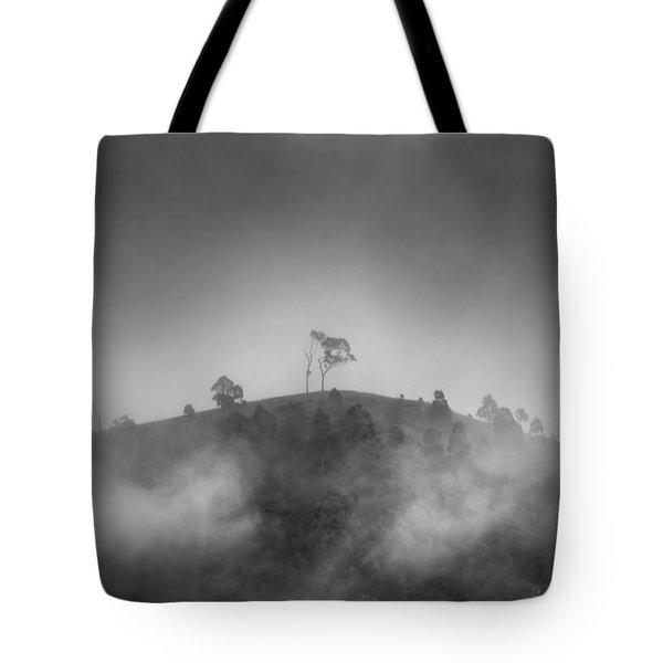 Misty Moods Tote Bag