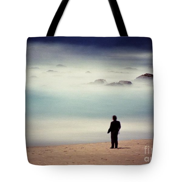 Misty Moonlight Tote Bag