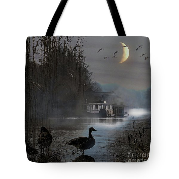 Misty Moonlight Tote Bag