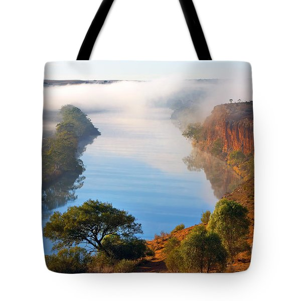 Misty Morning Tote Bag by Bill  Robinson