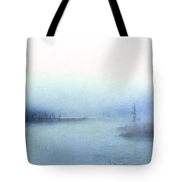 Misty Morning Tote Bag by Catherine Alfidi