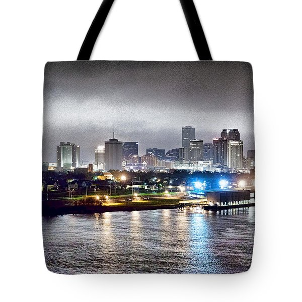 Misty Morning In New Orleans Tote Bag by Dan Dooley