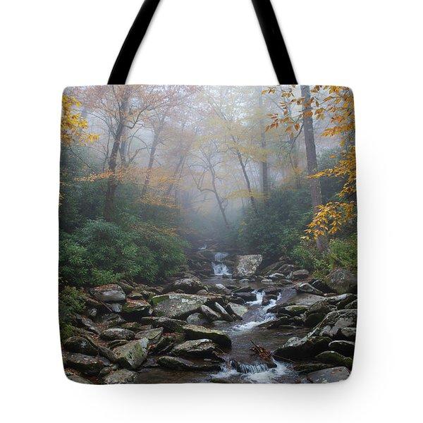 Misty Morning Magic Tote Bag