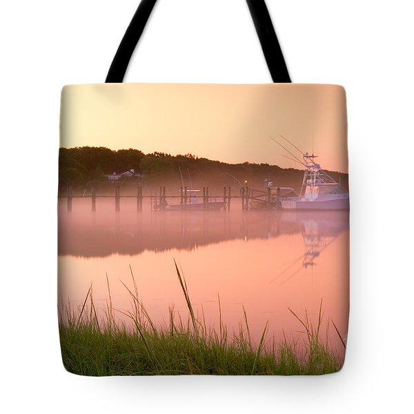 Misty Morning Osterville Cape Cod Tote Bag