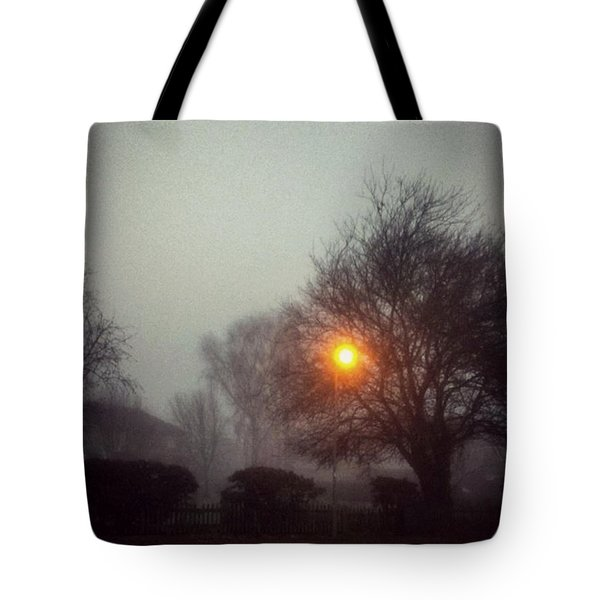 Misty Morning Tote Bag by Persephone Artworks