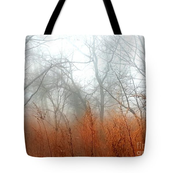 Tote Bag featuring the photograph Misty Morning by Raymond Earley