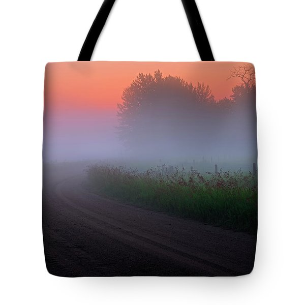 Misty Mornings Tote Bag