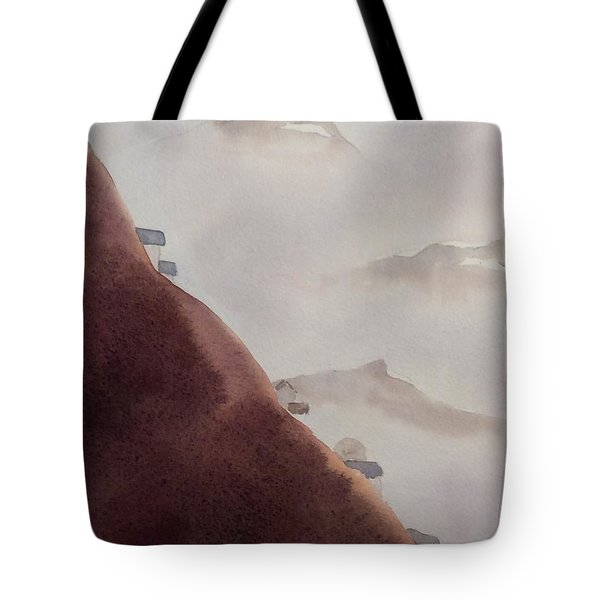 Misty Mountain #3 Tote Bag