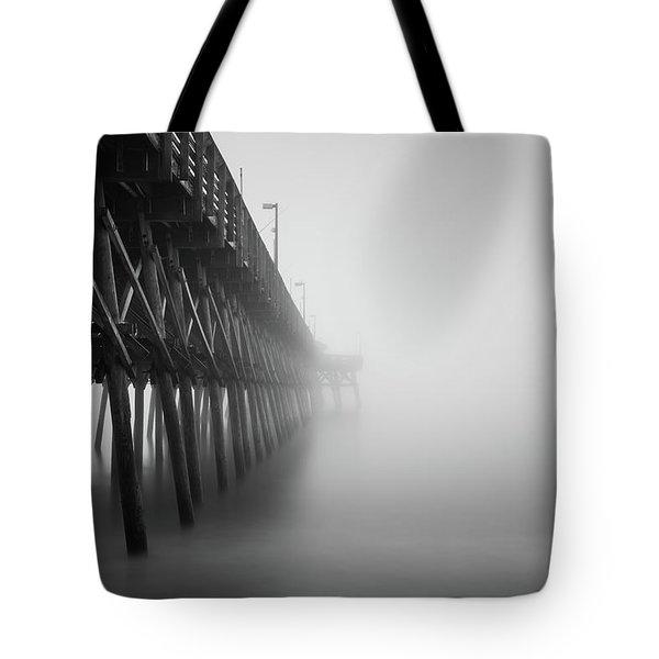 Misty November Morning II Tote Bag