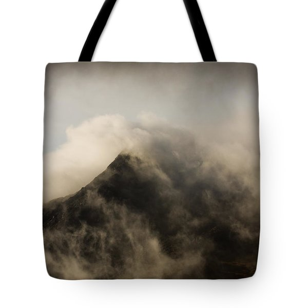 Misty Peak Tote Bag