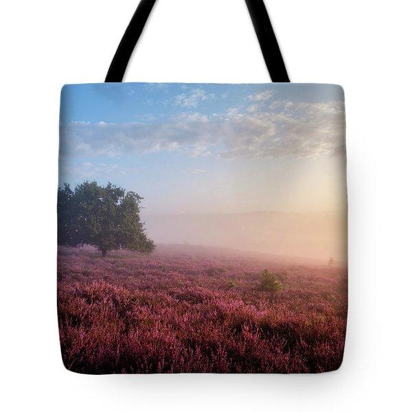 Misty Posbank Tote Bag