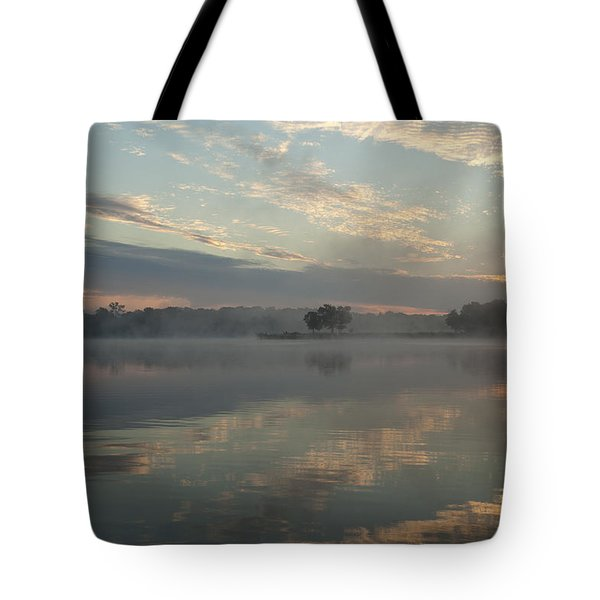 Misty Reflections Tote Bag