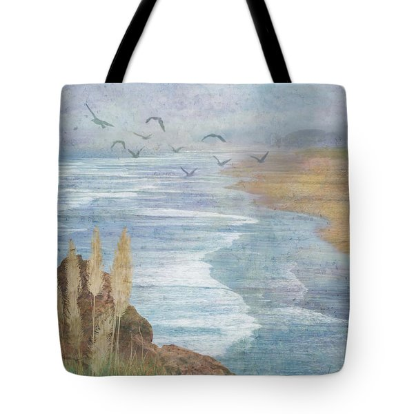 Misty Retreat Tote Bag