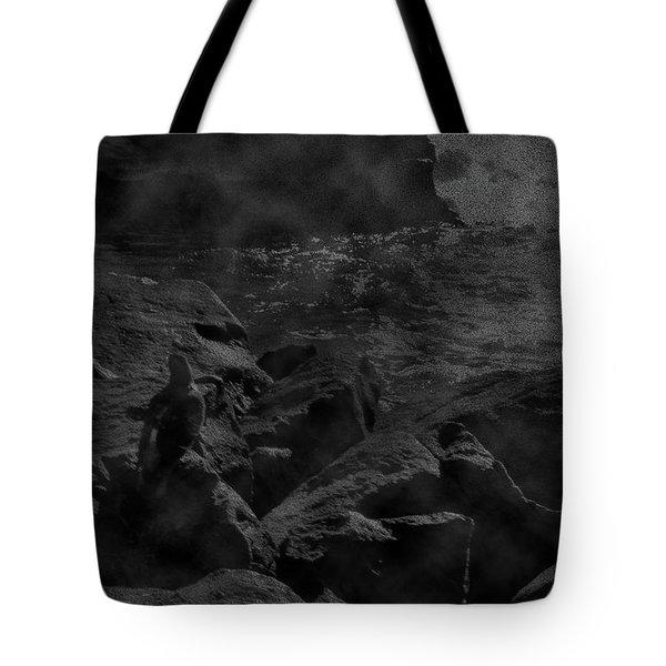 Misty Sea Tote Bag