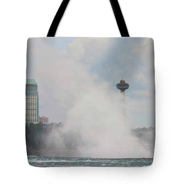 Misty Skylon Tote Bag
