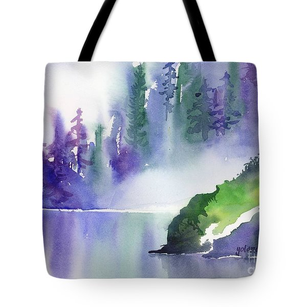 Misty Summer Tote Bag