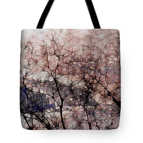 Misty Sunrise On Whidbey Island Tote Bag
