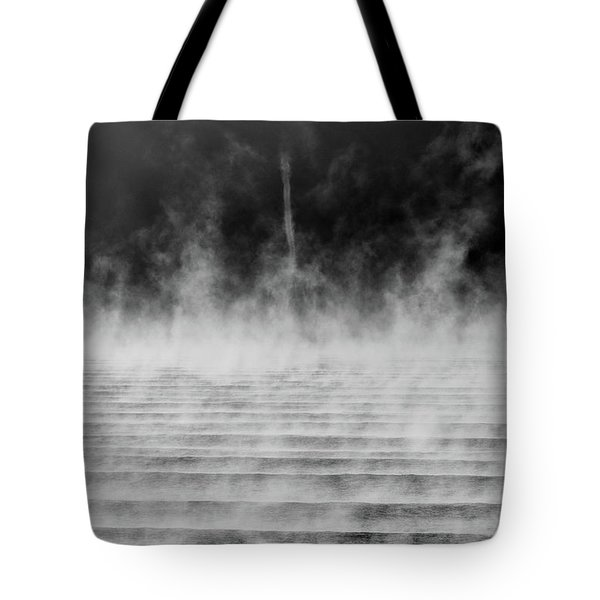 Misty Twister Tote Bag