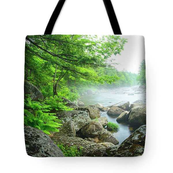 Misty Waters Tote Bag