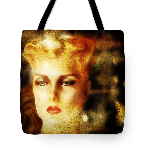 Misty Woman Tote Bag