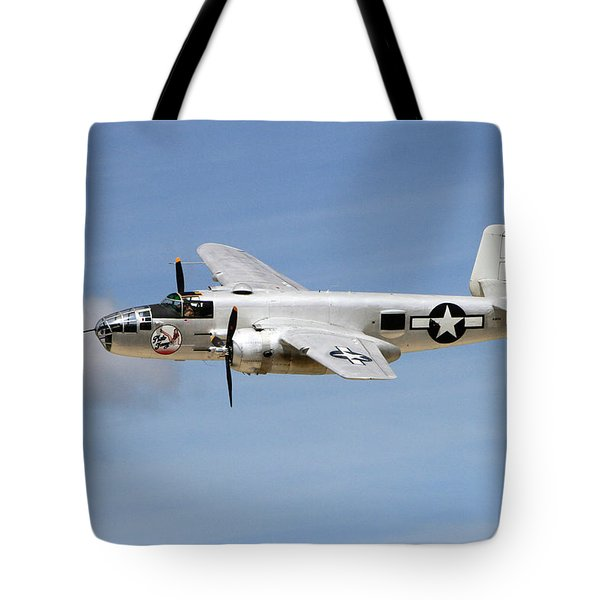 Mitchell In The Sky Tote Bag