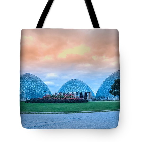 Mitchell Park Conservatory,the Domes Tote Bag