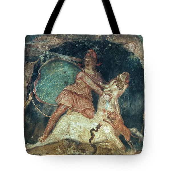 Mithras Killing The Bull Tote Bag by Granger