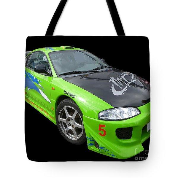 Mitsubishi Eclipse Tote Bag