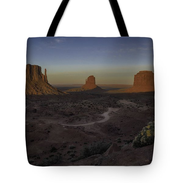 Mittens Morning Greeting Tote Bag
