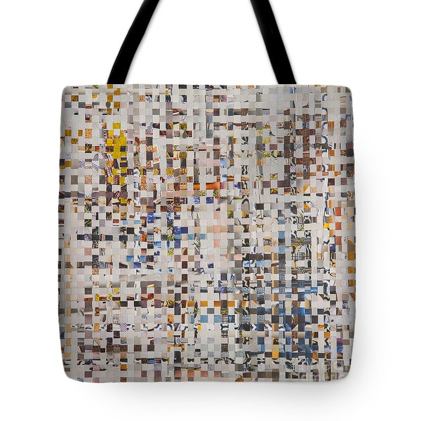 Tote Bag featuring the mixed media Mix by Jan Bickerton