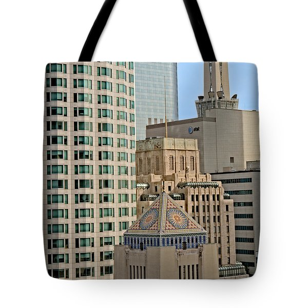 Mixed Architecture Tote Bag