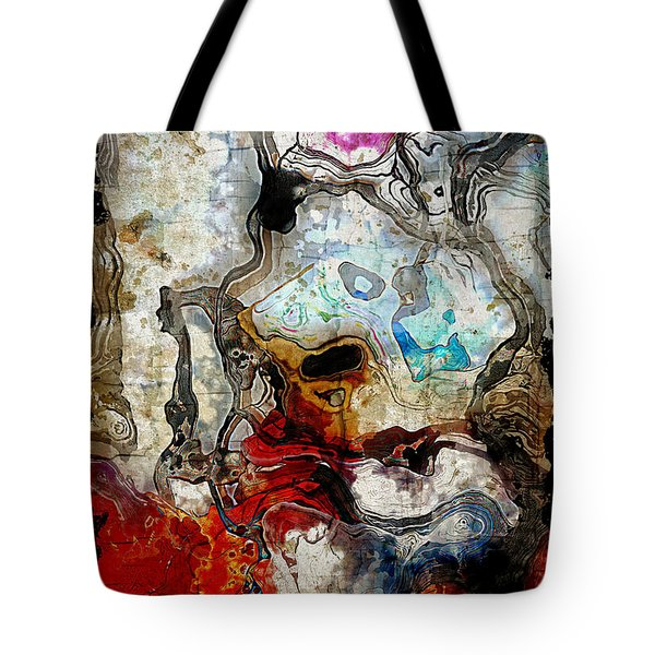 Mixed Emotions Tote Bag by The Art Of JudiLynn