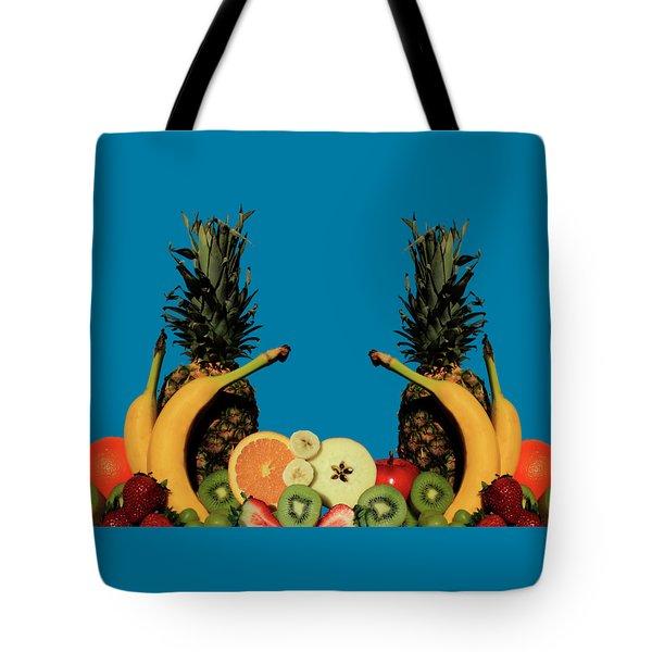 Mixed Fruits Tote Bag