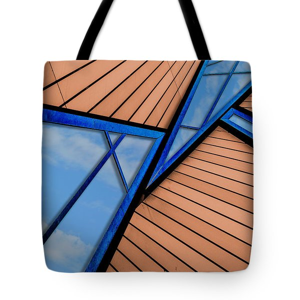 Mixed Perspective Tote Bag