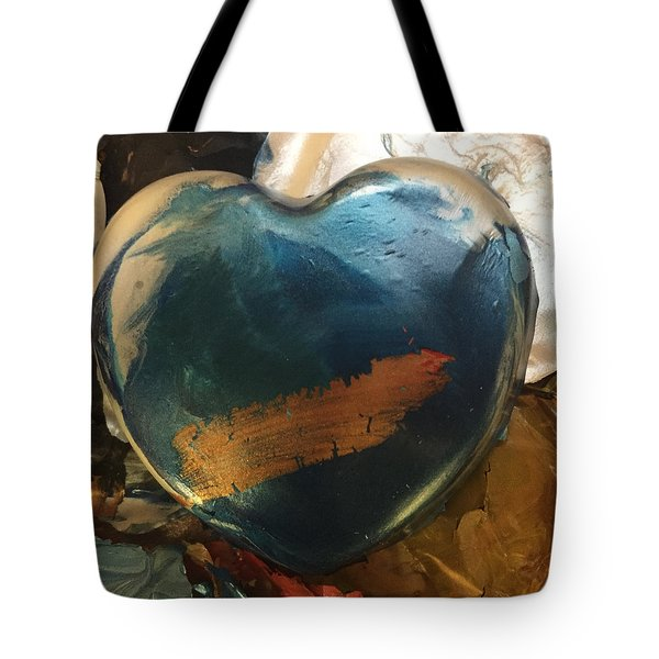 Tote Bag featuring the photograph Mixing Pot by Paula Brown
