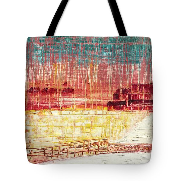 Mixville Road Tote Bag