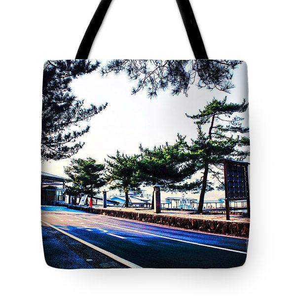 Tote Bag featuring the photograph Miyajima by Helge