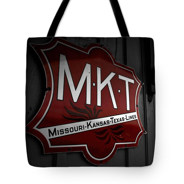 Mkt Railroad Lines Tote Bag