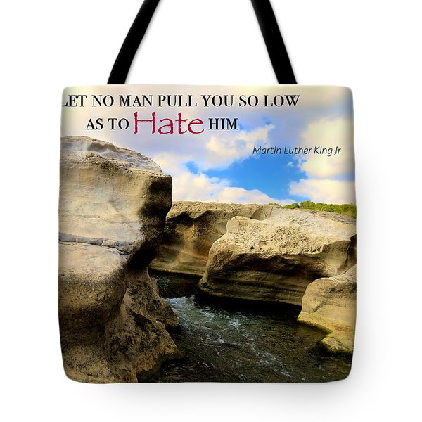 Mlk 1 Tote Bag by David Norman