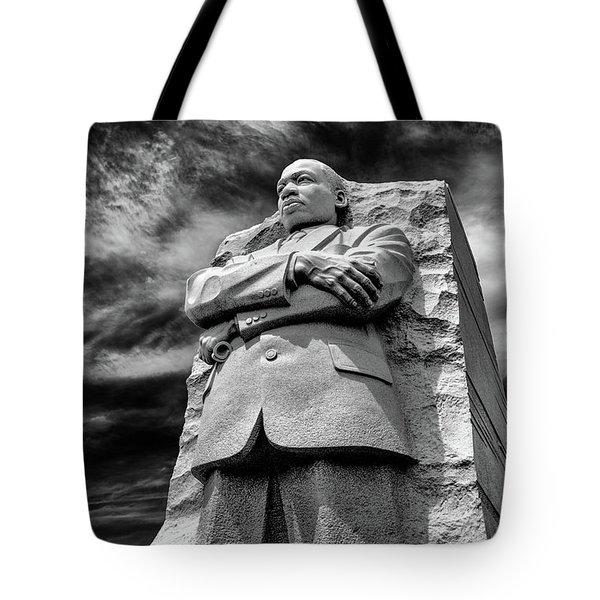 Mlk Memorial Tote Bag by Paul Seymour