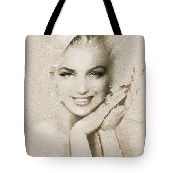 Mm 133 Sepia Tote Bag